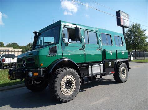 Mercedes-benz Unimog U1550 Crew Cab 4x4_buses And Coaches