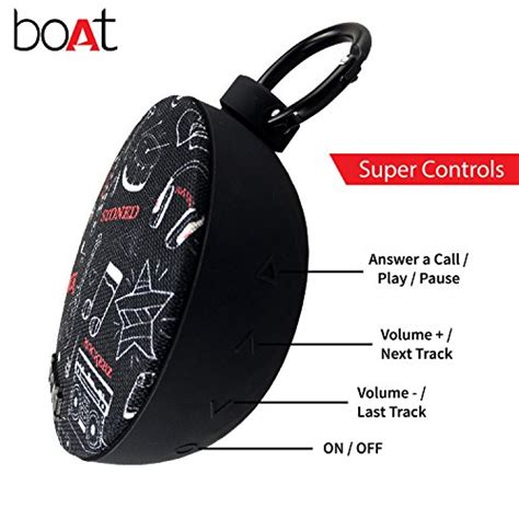 Boat Speakers Bluetooth by Buy Boat 200 Portable Bluetooth Speakers Black On