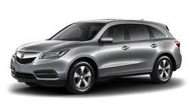 Acura Mdx Rental by Luxury Vehicle Rental In Mississauga Ontario