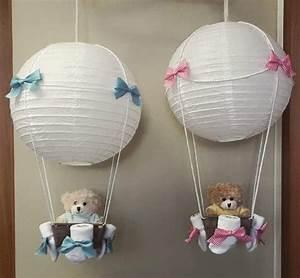 Baby Geschenk Basteln : baby lampe ballon geschenk geschenke baby geschenke und baby ~ Frokenaadalensverden.com Haus und Dekorationen