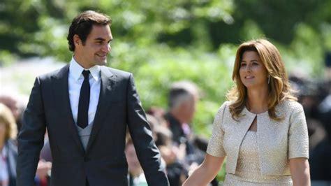 roger federer attends pippa middletons wedding  wife