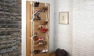 Schuhregal Für Die Tür : 1x oder 2x schuhregal f r die t r oder wand zum anh ngen mit platz f r 36 paar schuhe ~ Bigdaddyawards.com Haus und Dekorationen