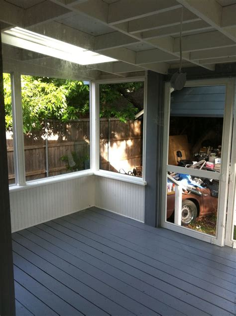 Window Ledge Outside by Porch Painted And Almost Done Soft Gray Deck And Trim