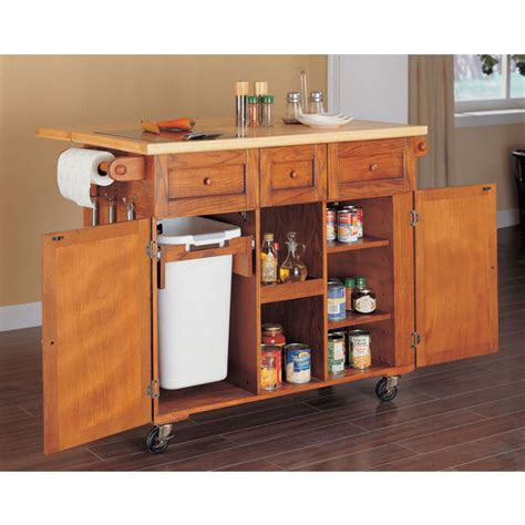 oak kitchen island cart kitchen carts kitchen islands work tables and butcher 3577