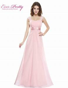 Pink bridesmaid dresses 2017 ever pretty he08834 long for Pink wedding party dresses