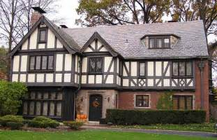 Tudor Style Home Photo by The Copper Coconut Top 10 American House Styles 3