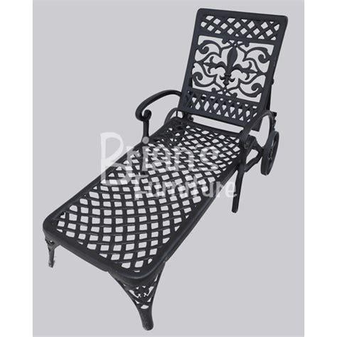 fleur de lis loveseat outdoor furniture cast aluminum