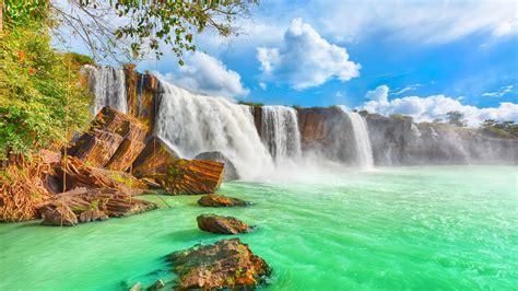 Wallpaper waterfall, 4k, HD wallpaper, Beautiful Dry Nur ...