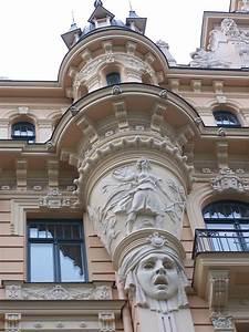Art Nouveau Architecture : free art nouveau architecture riga latvia 2 stock photo ~ Melissatoandfro.com Idées de Décoration
