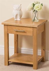 Oslo solid oak lamp table free uk delivery for Z oak lamp table
