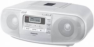 Radio Cd Kassette : panasonic rx d45 portable cd radio cassette recorder ~ Jslefanu.com Haus und Dekorationen