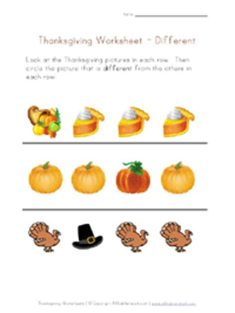 thanksgiving worksheets  kids  kids network