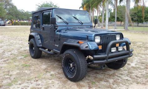 New Jeep Wrangler Engine by Restored 1991 Jeep Wrangler Yj Automatic With New Engine