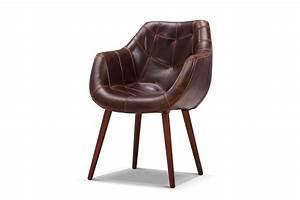 Chaise Vintage Cuir : chaise pilote vintage en cuir rose moore ~ Teatrodelosmanantiales.com Idées de Décoration