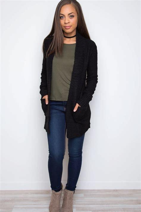 Black Cardigan Outfits Pinterest - Aztec Sweater Dress