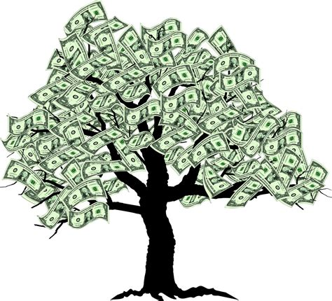 Tree Wallpaper Clipart by Real Money Trees Clipart Panda Free Clipart Images