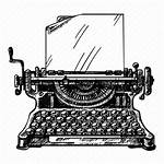 Typewriter Icon Paper Document Retro 512px Greetings