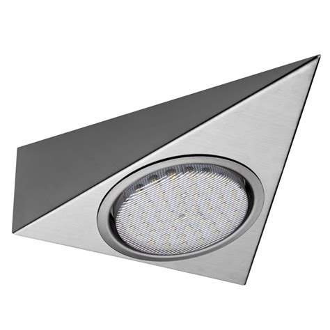 led kitchen lights uk gx53 trigon led triangle light 6916