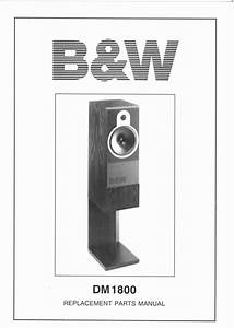 B U0026w Dm-1800 Bowers  U0026 Wilkins   Service Manual