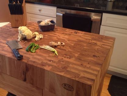 McClure Block   Hardwood Kitchen Countertops   Butcher Block