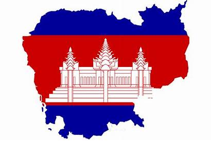 Flag Cambodia Cambodian National Map Graphics Country