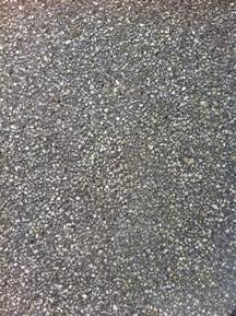 exposed aggregate concrete with grey and smoke