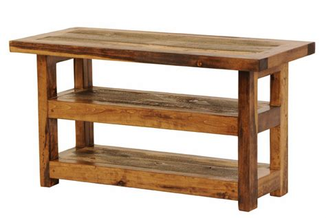reclaimed wood tv stand plans  woodworking