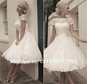 jacqueline vintage lace short wedding dress With short vintage lace wedding dresses