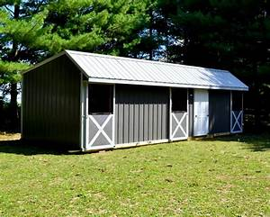 horse barns raber portable storage barns With 4 stall horse barn cost