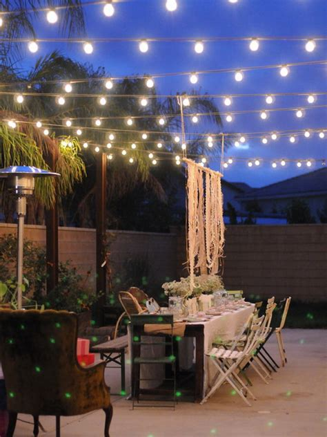 string lights for kitchen 27 ideas for decorating patio with lighting fixtures 5905