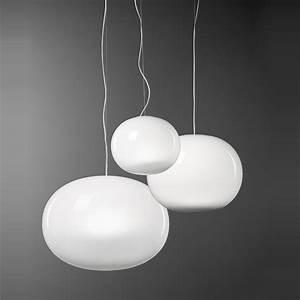 Italienische Lampen Designer : aria italienische h ngeleuchte mit mundgeblasenem ~ Watch28wear.com Haus und Dekorationen