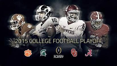 Football College Playoff Alabama Michigan Oklahoma Clemson