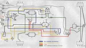 Dodge 50 Air    Hydraulic Brakes P S V  Diagramatic And