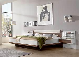Bett 180x200 Günstig : doppelbett champagner noce munica4 designerm bel moderne m bel owl ~ Indierocktalk.com Haus und Dekorationen