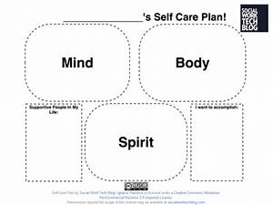 ohthe importance of self care being the change With self care plan template