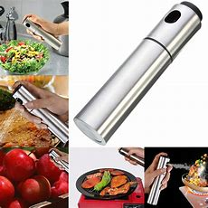 Portable Stainless Steel Pump Spray Fine Bottle Olive Oil