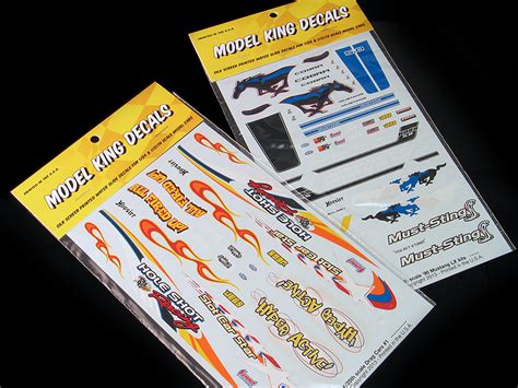 water  decal designer  model cars model king decals