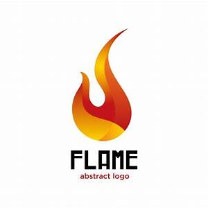 Flame abstract logo Vector | Free Download