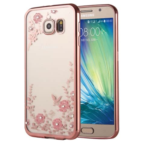 silicon tpu cover protective flowers patterns electroplating soft tpu protective cover
