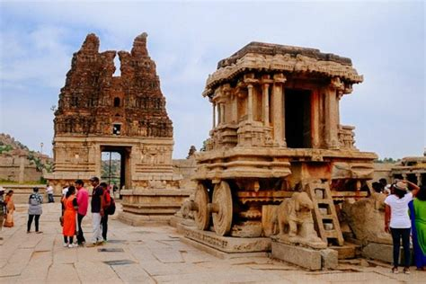 Karnataka's Hampi To Be Developed As Iconic Tourism Site