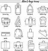 Bags Bag Laptop Mens Icons Clip Illustrations Arts Vectors Similar sketch template