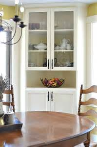 Short Linen Cabinet by Before And After Dining Room Makeover At The Picket Fence