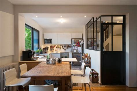 cuisine atelier artiste verrière et cloison atelier d 39 artiste pour une cuisine ou