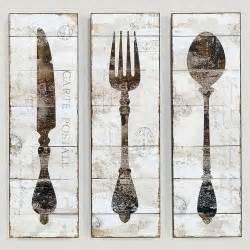 kitchen forks and knives natalie wood panel wall knife fork and spoon for kitchen home deco pieces