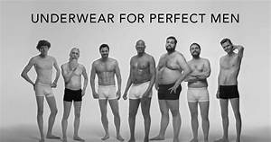 Body Positive Underwear Ads : many different body types