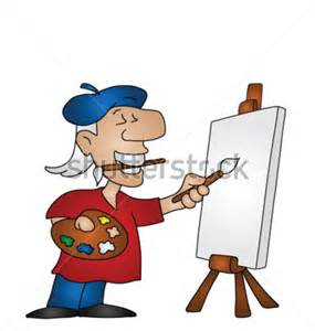 Artist Cartoon Clip Art