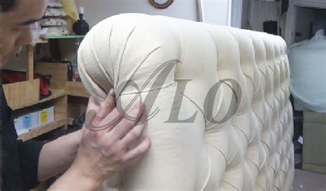 How To Do Tufting Upholstery by Diy How To Upholster A Tufted Headboard L Alo