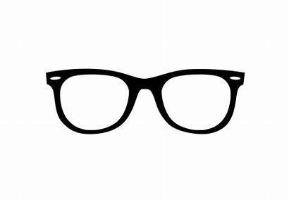 Glasses Wayfarer Vector Sunglasses Ray Clipart Ban