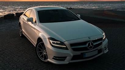 Mercedes Benz Cls Headlights 1080p Background Widescreen