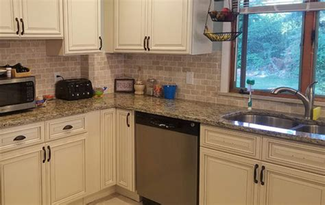 kitchen cabinets with light granite countertops kitchen bath and exteriors gallery cabinets 9837